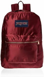 JanSport JS0A3C4W50C High Stakes Backpack, Russet Red/Rose Gold