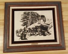 P. B. Wolfe Marble Etching Timber Den #588/1250