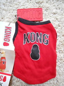 Kong Tank Shirt, size XX Small, brand new, red with black trim