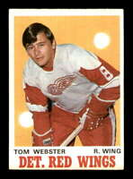 1970 O-Pee-Chee #155 Tom Webster RC EXMT/EXMT+ X1428862