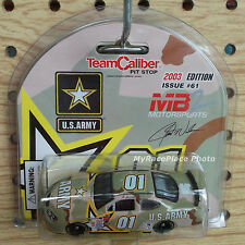 #01 Jerry Nadeau 1/64 NASCAR Diecast Stock Car _2003 PONTIAC U S ARMY CAMO PAINT