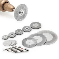 38 Pcs Diamond Cutting Disc Saw Blade Grinding Wheel Set Rotary Tool Circular