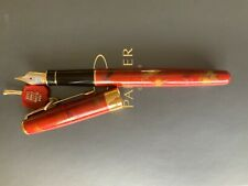 Parker Sonnet Red Chinese Laque Fountain Pen