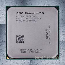 AMD Phenom II X4 965 CPU Processor HDZ965FBK4DGM 3.4 GHz 667 MHz Socket AM3