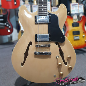 Tokai TL-ES-NA Legacy Series 335 Style Semi Hollow Electric Guitar in Natural