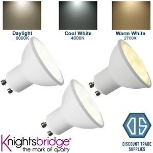 Knightsbridge GU10 5W LED Non Dimmable Light Bulb Daylight Cool White Warm White