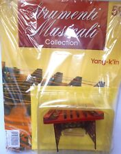 MINIATURE YANG-K'IN - STRUMENTI MUSICALI  COLLECTION HACHETTE n.59