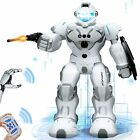"""Humanoid 2.4 GHz Remote Control Guardian Intelligent Gesture Robot Kids 13"""" tall"""