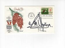 MANUEL NORIEGA HAND SIGNED 1969 FIRST DAY COVER        AWESOME+RARE       JSA