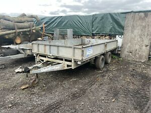 Ifor Williams LM126 12x6 Flatbed Trailer