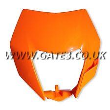 Genuino KTM 200EXC Exc 200 2014-2016 Linterna y lámpara envolvente de máscara de plástico color naranja