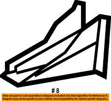 Dodge CHRYSLER OEM 07-12 Caliber Floor Rails-Rear-Bumper Bracket Left 5115493AA
