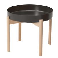 IKEA YPPERLIG Couchtisch Tisch Beistelltisch Wohnzimmertisch dunkelgrau, Birke
