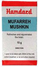 2 X Unani Hamdard Mufarreh Mushkin (15g) Free Shipping