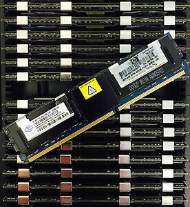 12GB 16GB 32GB Memory RAM Kits(4GB Dimms)PC2-5300F DDR2 667MHz ECC HP IBM DELL