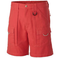 """Columbia Men's PFG Brewha II Short Ins 7"""" - Size XL - Sunset Red"""