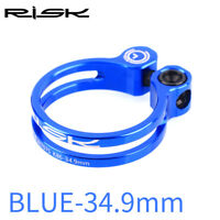 31.8mm 34.9mm Al Bicycle Seat Post Clamp with Titanium Bolt Bike Seatpost Clamps