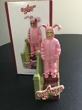 """2006 Carlton Cards """"A Christmas Story"""" Talking Ralphie Bunny Suit Ornament"""