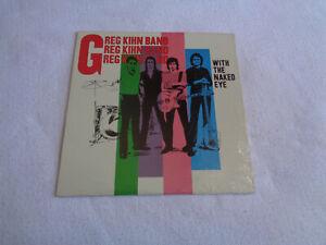 """Greg Kihn Band – With the Naked Eye - Beserkley - 12"""" Vinyl LP - 1979 - NM"""