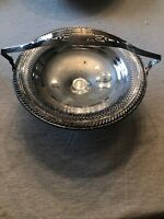 "FB Rogers Silver Co Vintage Silver Plate Bowl With Handle 8"" Number 1913"