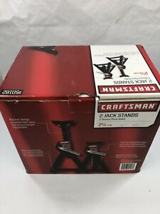 Craftsman 2-1/4 ton Jack Stands, 2 pk., New