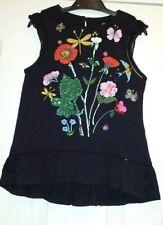 Bnwt Next Girls Sleeveless Hand Sewn Embellishment Top Size 4 Years RRP £16