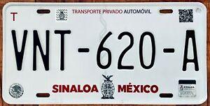 SINALOA MEXICO License plate Expired Graphic Background MAZATLAN !!