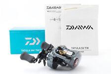 Daiwa Tatula SV TW 7.3R Right Handed Baitcasting Reel Used Japan Very Good #340