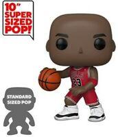 "FUNKO POP! NBA: Bulls - Michael Jordan 10"" (Red Jersey) Funko Pop! Nba: Toy"