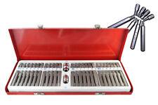 Set inserti chiavi bussole torx 54 pz 1/2 3/8 professionale H10