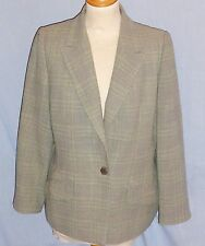Unbranded Wool Blend Check Coats & Jackets for Women