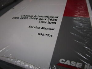 Case IH 3088, 3288, 3488 & 3688 Tractors Service Manual