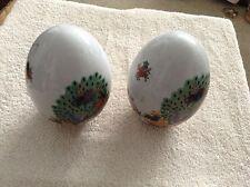 Set of ceramic eggs