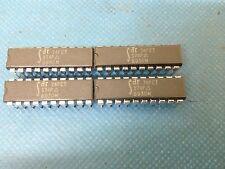 x4 **NEW** IDT74FCT374P , Flip Flop, Octal, D Type, 20 Pin, Plastic, DIP