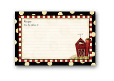 Brownlow Gifts Recipe Cards 4 x 6 - Fresh is Good