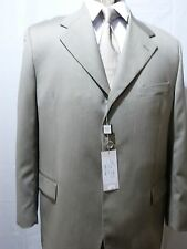 Men's Suit,Visconti Uomo, Made in Italy, Light Olive, 48R, NWT