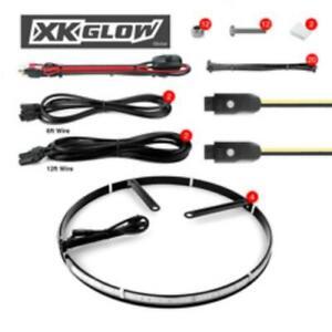 Xk Glow XKWHEELKIT Wheel Ring Light Kit 4pc 15 .in App Con