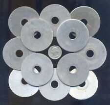 12 Identical Large Aluminum Washers For Your Steampunk / Altered Art Projects