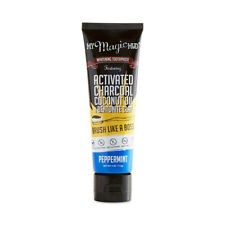 Whitening Toothpaste Activated Charcoal Peppermint 4 oz by My Magic Mud