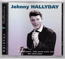 RARE CD / JOHNNY HALLYDAY - CRISTAL COLLECTION / 16 TITRES (ALBUM ANNEE 1995)