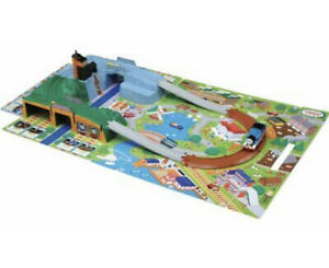 Takara Tomy Plarail Thomas Go Out Solid Map from Japan