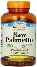 Sundown Saw Palmetto Prostate and Urinary Health 450 mg Capsules 250 ea