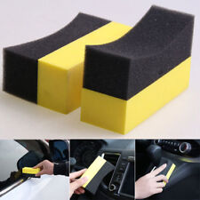 Auto Car Care Wheel Washing Sponge Tire Waxing Polishing Compound Cleaning Pad