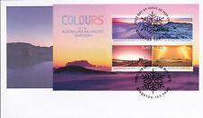 2015 Colours of The AAT (Mini Sheet) FDC - Kingston Tas 7050 PMK