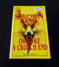 Orrore a Crouch End - Stephen King - Prima Edizione E.T. Fanucci -