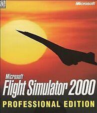 Microsoft Flight Simulator 2000 Professional Edition (PC, 1999)