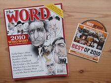 The WORD JAN 2011 +CD BEST OF 2010 KEITH RICHARDS LADY GAGA PET SHOP BOYS