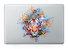 "Tiger Colorful Laptop Apple Sticker Viny Decal Macbook Air/Pro/Retina 13""15""17"""