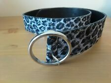 """Multicolor Spackled Belt Made In Italy 33-34"""""""