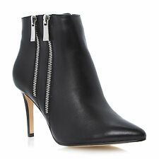Dune Stiletto Zip 100% Leather Upper Shoes for Women